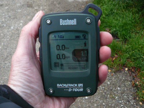 test et avis complet Bushnell Backtrack DTour